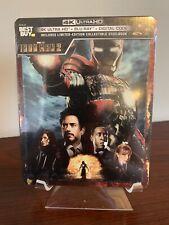 Iron Man 2 Steelbook (4K UHD/Blu-ray/Digital) Factory Sealed