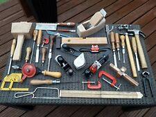 More details for job lot 30+ antique/vintage carpentry woodworking tools stanley marples sorby +