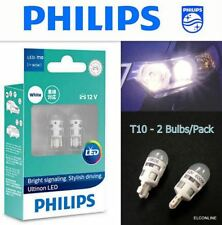 Genuine PHILIPS Ultinon LED T10 W5W 11961 Position Interior Light Bulb x 2 #SGT