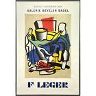 Fernand Léger 1969 Galerie Beyeler Basel Exhibition Abstract Offset Lithograph