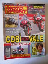 MOTOSPRINT n°23 1998 con maxi Poster Aprilia [MS9D]
