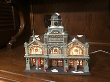 """Dept 56 Christmas In The City Series Cic #56.59254 """"East Harbor Ferry Terminal�"""