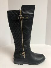 Forever Women's Black Riding Boots Size 9M