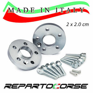 Set 2 Spacers 20MM repartocorse - smart Fortwo coupe (451) - Made IN Italy