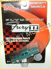 1967 '67 PLYMOUTH FURY II CONCEPT AND MUSCLE DIECAST RC RARE!