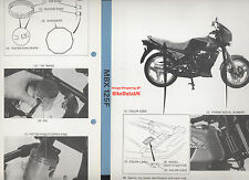 Genuine Honda MBX125F (1984-on) trabajo de fábrica Manual del taller Mbx 125 F JC10 atac