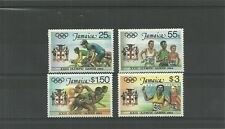 JAMAICA SG600-603-OLYMPIC GAMES LOS ANGELES -MNH