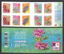 RSA/South Africa 2000 Flowers 10v s/a bklt ref:s3529