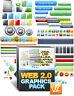 Web 2.0 Graphics Pack V2 -über 2000 Killer Website Grafiken - Master Reseller