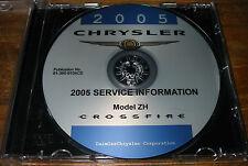 Werkstatthandbuch auf CD Chrysler Crossfire Typ ZH Motor Getriebe Bremsen 2005!