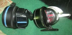 Two Barely Used Johmson Sabra Spin Cast Reels #131 & 130B