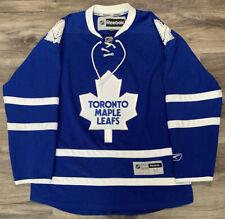 Toronto Maple Leafs Blank NHL Hockey Reebok Authentic Jersey Mens Size Medium