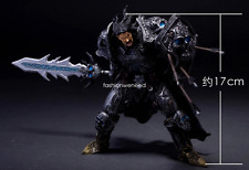 World of Warcraft WOW Human Brave Death Knight Awesome Rare PVC Figure Model Toy