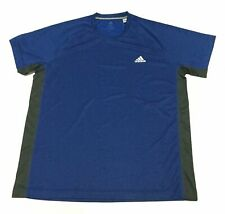 Men's adidas Essential Raglan Active Tee Workout Shirt CROYAL XL Dw4153