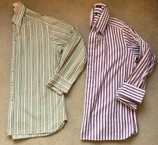 Striped Double Cuff Formal Shirts for Men with Multipack