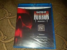 MASTERS OF HORROR - SEASON 1 - VOLUME IV <BLU-RAY DISC> (NEW AND SEALED)