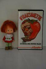 Poupée Charlotte aux fraises +  VHS Fraisinette vintage