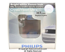 NEW Philips H7 Crystal Vision Ultra 2-Pack 12972CVS2 Bulb