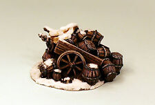 28mm Scale Grey Resin Abandoned Beer Wagon-Resin Terrain-Scenery Piece UNPAINTED