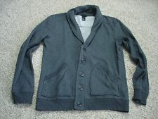 mens H&M H and M cardigan sweater gray small WM10