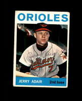 Jerry Adair Hand Signed 1965 Topps Baltimore Orioles Autograph