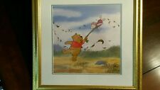 "Winnie the Pooh ""Fall Flight"" limited edition sericel"