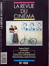 La Revue du Cinéma n°469- 1991 : Sydney Pollack - Le mépris Jean-Luc Godard