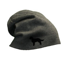Slouchy Beanie for Men American Water Spaniel Dog Embroidery Women Skull Cap