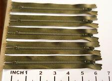 Cerniera Larghezza Taglia 7 YKK di Metallo Nero migliore qualità 9 pollici estremità chiuse con cerniera