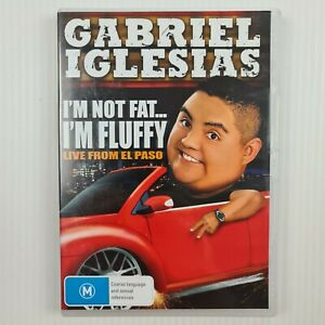Gabriel Iglesias I'm Not Fat... I'm Fluffy -Live from El Paso DVD - TRACKED POST