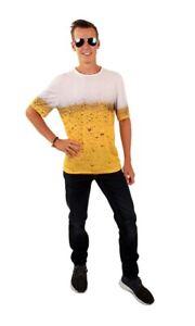 T-Shirt mit Bier Druck Karneval Verkleidung Oktoberfest JGA Schützenfest Party