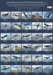 Bf 109E Aces luftwaffe postcard set Battle of Britain Galland,Wick Molders