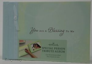 Hallmark You are a Blessing to Me Special Person Tribute Album 8X5 NEW