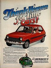 1971 RENAULT 5 Red Car AD