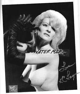 Vintage K.C.LAYNEE*Burlesque*autograph signed photo/DorisGohlke*DelilahJones