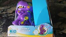 Bubble Dinosaur-Bump 'N Go-Purple Bubble Machine , Bubble Fun