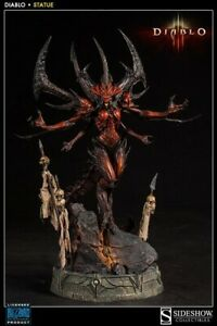 Sideshow Collectibles Diablo 3 - Diablo Polystone Statue New