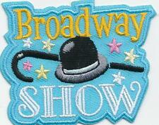 Girl Boy Cub BROADWAY SHOW Fun Patches Crests Badges SCOUTS GUIDE tour play saw