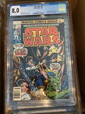MARVEL STAR WARS #9 Marvel CGC 8.0