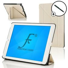 Forefront Cases White Leather Rotating Case for Apple iPad Air 2 Stylus