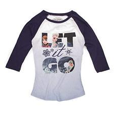 Disney Frozen Trio Let It Go Scene Juniors Long Sleeve T-Shirt
