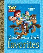Toy Story Little Golden Book Favorites (Disney/Pixar Toy Story)-RH Disney, Golde