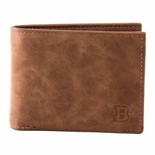 Wallet Men Leather Bifold Billfold Credit Card Id Holder Purse Pocket