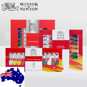 Winsor & Newton Oil Paint Colour Tube Set 12ml*18/24 colours Artist Painting