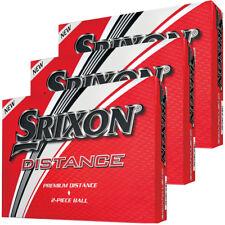 3 DOZEN BRAND NEW 2018 SRIXON DISTANCE GOLF BALLS