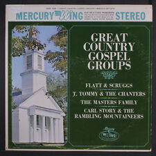 VARIOUS: Great Country Gospel Groups LP (ES, small toc, promo stamp obc)