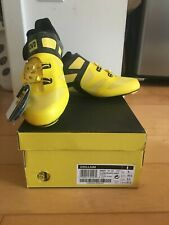 Mavic Cosmic Ultimate road cycling shoes size 43 1/3 YELLOW Carbon - NEW