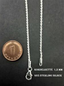925 Sterling Silber Panzerkette Schlangenkette Ankerkette Silber Halskette