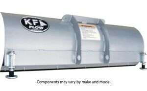 "KFI Pro-Series 66"" UTV Straight Blade w/ Snow Flap"