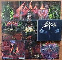 SODOM - SODOM SAME LIMITED EDITION SLIPCASE CD + POSTER STEAMHAMMER 2006